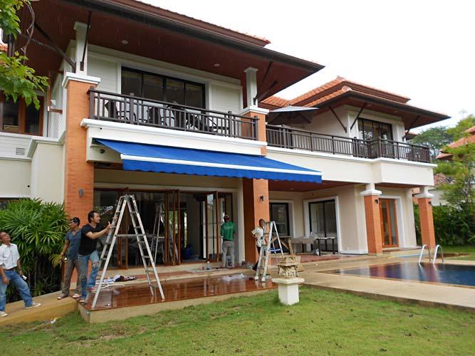 Retractable Folding Arm Awning - Phuket Awnings